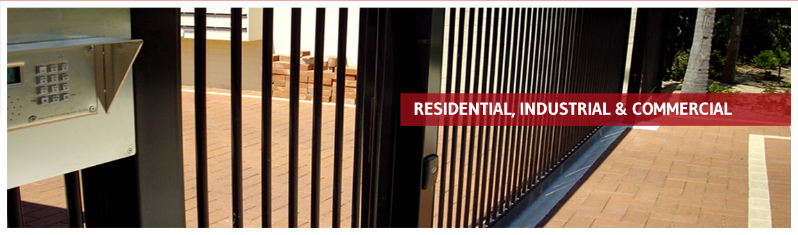 Residential, Industrial & Commercial Automatic Gates